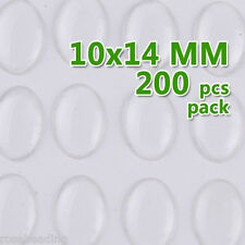 200PCS 10*14MM Oval Clear Epoxy Sticker Epoxy Resin for BOTTLE CAP C1903