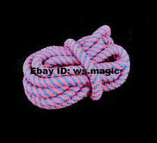 Moving Walking Knot color Magic Trick Close Up Kids Party Show Stage Rope Parlor