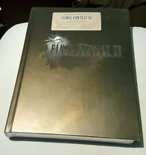 FINAL FANTASY XV COLLECTORS EDITION STRATEGY GUIDE + ART BOOK FACTORY SEALED NEW