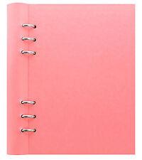 Filofax A5 Ablagemappe Pastel Rosa Nachfüllbar Notizbuch Ordner Leder Aussehen