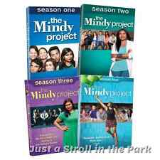 The Mindy Project: Mindy Kaling TV Series Complete Seasons 1 2 3 4 Box/DVD Sets