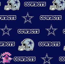 140226037- New Dallas Cowboys NFL 100% Cotton Football Fabric 6313 D By The Yard