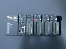 Direct Logic 205 Koyo PLC by Automation Direct - Complete rack CPU DL2 and cards
