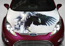 Eagle Full Color Graphics Adhesive Vinyl Sticker Fit any Car Hood #187