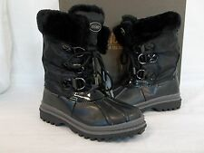 Khombu Size 6 M Birch Low Black Water Proof Mid Calf Boots New Womens Shoes