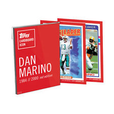 2016 Topps Dan Marino Cardboard Icons 5x7 Red Edition Set 02/10 MINT