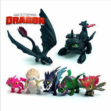 NEW 7PCS How To Train Your Dragon 2 Action Figures Playset Toys Cake Topper @USA