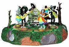 Lemax 44732 DAY OF THE DEAD PARADE Spooky Town Table Accent Animated Halloween I