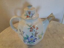 """Mikasa Continental Fine China """"Rose Hips"""" 6 Cup Coffe Pot & Lid. Discontinued."""