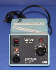 (1) Used Weller EC1002 Temperature Controlled Electronic Soldering Station