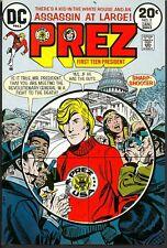 Prez 3 APPROVAL COVER Jerry Grandenetti 1973 PROOF ART Adler USA Capital Bldg C.