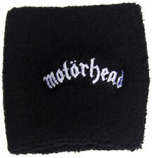 Official Motorhead - White Text Logo - Sweatband