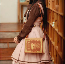 Vintage Lolita Touhou Project Patchouli Magic Book Bag Anime Shoulder Bag Gift
