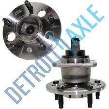 Pair (2) NEW REAR Wheel Hub and Bearing Assembly Buick Cadillac Pontiac ABS