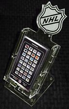 NHL HOCKEY NEW LICENSED CELL PHONE DESK STAND CLEAR PLEXIGLAS 12815