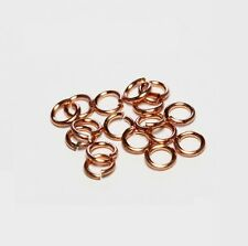 16 Ga Wire Solid Copper Jump Ring  (10 MM O/D  ) Pkg. of 100 / SAW-CUT