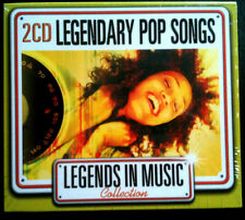 LEGENDS IN MUSIC COLLECTION - LEGENDARY POP SONGS - 2 CD NEUF -