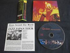 QUEEN, News Around The World: Live San Diego 1977/Tokyo 1979, CD Mini LP,EOS-109