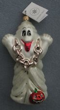 Christopher Radko Halloween Ornament  Ghost with Chains