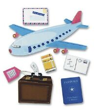 Jolee's AIRPLANE TRAVEL Stickers LUGGAGE PASSPORT VACATION