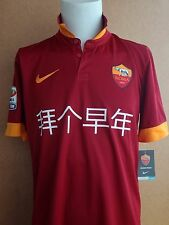 AS ROMA DE ROSSI CHINESE YEAR SPONSOR MAGLIA TRIKOT JERSEY MAILLOT SHIRT