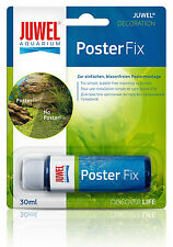 JUWEL POSTER FIX BACKGROUND MOUNTING GLUE ADHESIVE FISH TANK AQUARIUM