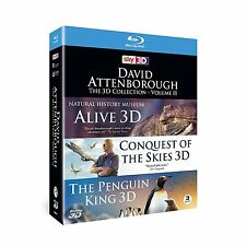 David Attenborough: The 3D Collection - Volume 2 [Blu-Ray Set, Region Free] NEW