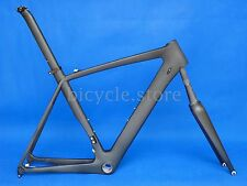 316# Toray Carbon Matt Glossy Road Bike Frame 50/52/54/56/58cm Fork Seatpost