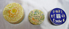 3 vintage face powder boxes, by Bourjois, Lorie Inc, Pond's Unused unopened full