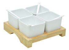 Easy Life Savoury 4 Bowl Snack Serving Set by Nuova R2S