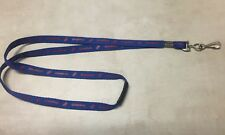 DOMINOS PIZZA LANYARD - BLUE WITH RED DOMINO'S LOGO KEYCHAIN
