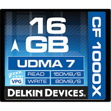 DK Pro 16G 1000X UDMA 7 Compact Flash card for Nikon D4S D4 D3S D3 D-SLR camera