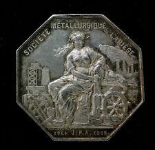 JETON EN ARGENT - ARIEGE - SOCIETE METALLURGIQUE - 1805-1868