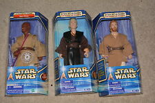 Star Wars ANAKIN SKYWALKER Obi-Wan Kenobi MACE WINDU 12 Inch FIGURES by Hasbro