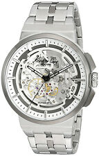 Kenneth Cole 10022315 New York Silver Dial Stainless Steel Automatic Men's Watch