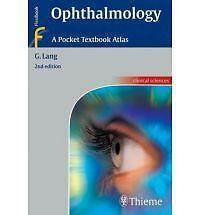 Ophthalmology : A Pocket Textbook Atlas by G. Lang (2007, Paperback, New Editio…