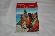 Frommer's Honolulu, Waikiki and Oahu by Jeanette Foster (2009, Paperback)
