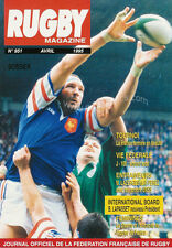 RUGBY No 951 Apr 1995 OFFICIAL MAGAZINE OF THE FFR - FRANCE
