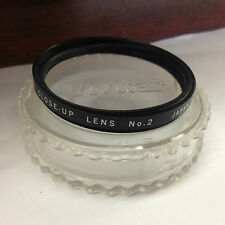 Vivitar 49mm Close-Up No. 2 Lens Filter Japan w/Plastic Case