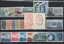 FRANCOBOLLI 1956 REPUBBLICA ANNATA MNH D/9040