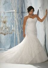 Plus Size Julietta by Mori Lee Wedding Gown Dress Bridal Size 22W