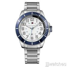 New Tommy Hilfiger Stainless Steel Date Men oversize Watch 51mm 1791073