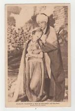 "Rudolph Valentino & Vilma Banky,""Son of the Sheik"",Allied Artists,Postcard,1926"