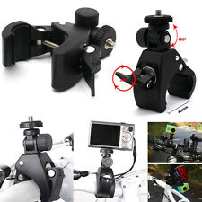"Bike Motorcycle Handlebar Tripod Mount Holder Stand For GoPro Camera 1/4"" Screw"