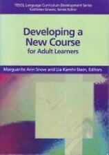 Developing a New Course for Adult Leaners (TESOL Language Curriculum D-ExLibrary
