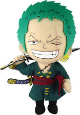 "**License** One Piece New World ""Pirate Hunter"" Roronoa Zoro 8'' Plush #52803"