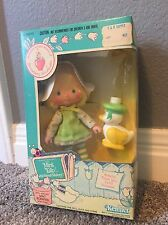 Vintage Strawberry Shortcake Doll: Mint Tulip w/ Pet Marsh Mallard (NIB)