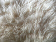 Threshold Target Off White Faux Fur Throw Blanket New