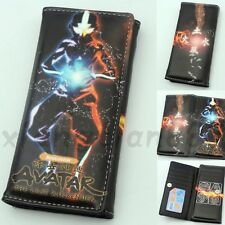 Anime Avatar:The Last Airbender Wallet Purse Layers Holder Long Rectangle Button