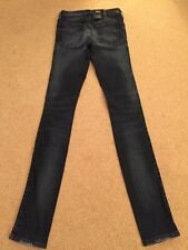 NEW Women's Diesel Skinzee 0668K Super Slim Skinny Stretch Jeans W23 L32 (985)